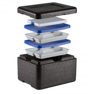 combi isotherme 6 litres pour livraison de repas froid a. Black Bedroom Furniture Sets. Home Design Ideas