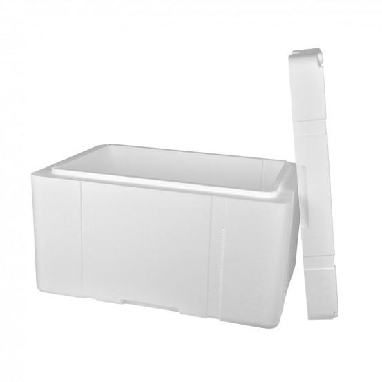 boite 37l polystyrene expans 50 mm pour chaine du froid longue duree. Black Bedroom Furniture Sets. Home Design Ideas