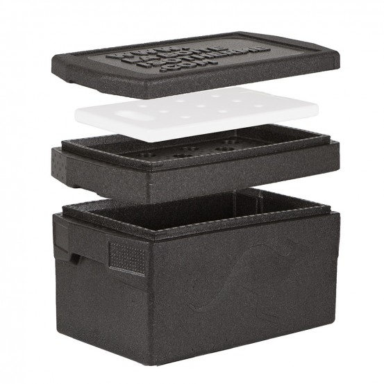 BOX GN 1/1 DELUXE - 45 litres