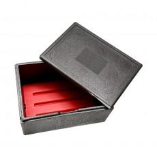Kit isotherme BOX 60x40 - 53L - CHAUD